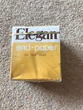 Elegan End Paper