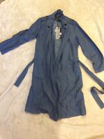 Ladies Size SMALL FREE QUENT Soft Denim Dress Jacket New With Tags ( Party Funky