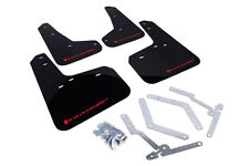 RallyArmor Mud Flaps (Red Logo)  for 2012+ Ford Focus ST, RS
