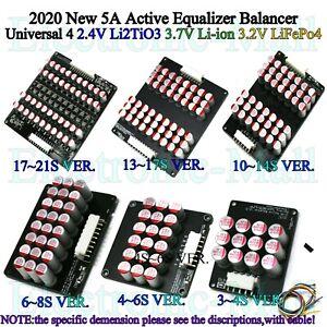 5A Battery Cells Balancer Universal For LTO LFP Li-ion Battery Active Equalizer