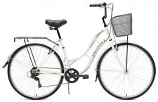 Tiger Town & Country Ladies Heritage Hybrid Traditional Bike 700c 6 Spd White