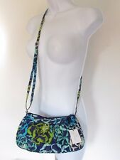 Vera Bradley Frannie Small Crossbody Shouder Bag in Katalina Blues NEW