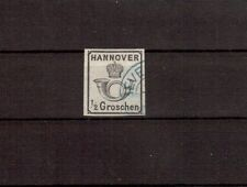 Hannover Michelnummer 17 gestempelt (intern: 248 )
