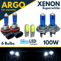 Ford Fusion Headlight Bulbs 100w Xenon Led White Hid High Low Fog Side Light 12v