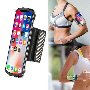 Gym Wristband / Arm Band Running Phone Holder for i Phone XS Max & 4.5-6 Inch