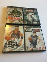 Lot Of 4 PlayStation 2 Ps2 Sports Games NHL NBA MLB 2ksports Untested