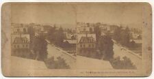View from Sinclair House, BETHLEHEM NH, Antique New Hampshire Stereoview Card