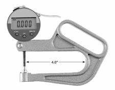 """309-230 Digital Thickness Gage 0-1"""", 4"""" Reach, .0005"""" Res"""