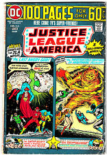 JUSTICE LEAGUE OF AMERICA #115 (VG/FN) 100 Page Giant! Classic DC Bronze-Age