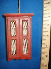 Kitchen Ornament Pie Safe Red wood 62216R 10