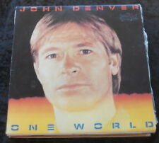 JOHN DENVER One World LP