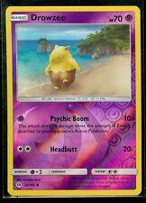 Pokemon DROWZEE 59/149 - Sun & Moon Rev Holo - MINT!