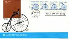 US FDC #1901 Bicycle, Spectrum (9161)