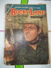 Rocky Lane Western Comic Book #57 - Charlton Publication