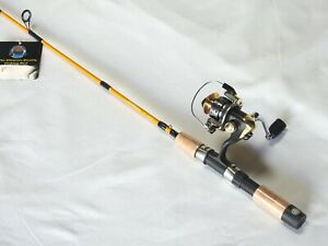 UltraLight Travel/Back Pack Spinning Rod Combo 4'2PC/ 5 BB Reel