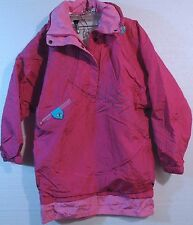 Roffe SNOWBOARD POWDER JACKET Women's Small Pull-Over Anorak Cross Country USA