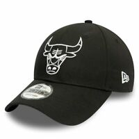 New Era 9Forty Snapback Cap - NBA Chicago Bulls schwarz