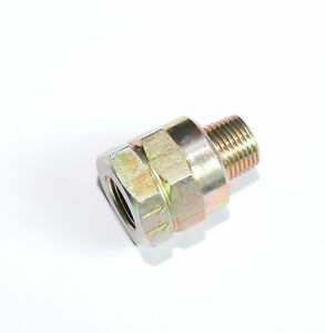 """1/2"""" NPT Female to Male Inline Check Valve Anti Backflow FasParts Brass"""