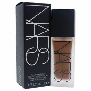 NARS All Day Luminous Weightless Foundation - Trinidad Dark 1 oz New In Box