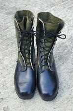 Ro Search Combat Boots 10 R Vintage Vietnam War Spike Protective Vtg Leather