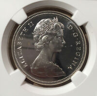 1967 CANADA One Dollar NGC PL 66 CAMEO - Proof Like - Centennial Confederation