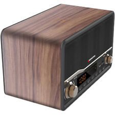 Monster Decora Wood Wireless Bluetooth Speaker & Clock Radio