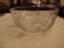 Beautiful Large Crystal Glass Fruit bowl