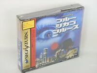 BLUE CHICAGO BLUE Brand NEW Item Ref/aaacd Sega Saturn Import Japan Game ss