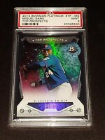 "2014 Bowman Platinum #TP-MS- Miguel Sano ""Top Prospects"" Die Cut RC! PSA MINT 9!"