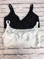36DD Bra Bundle x2 WIRE FREE bras in EX M&S ladies lingerie (1312)