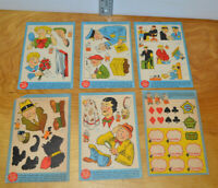 Vintage DICK TRACY COMICOOKIES Set Pillsbury 1937 Comic Book Collectible