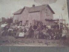2 1906 Cabinet Cards Photo Nestlerode Hedger Phonograph Hunters Butler Missouri
