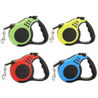 Rope Dog Leash Lead Retractable Walking Training For Small Medium Dogs Cats
