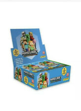 More details for panini minecraft adventure trading cards full display box   new & sealed,uk new