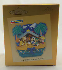 HALLMARK KEEPSAKE ORNAMENT~PEANUTS CHRISTMAS PAGEANT~2005 Exclusive QXC5011~NEW