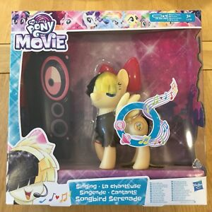 My Little Pony The Movie Singing Songbird Serenade Pony Toy - NEW