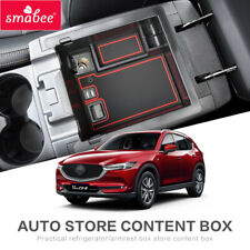 Car Armrest Box Storage for Mazda CX-5 2017 2018 2019 2020 Accessories Tidying
