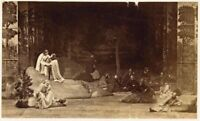Photo of theater Opera Nice original albumen photo 1880c
