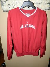 Nike Team Boys' Pullover Jacket Alabama Crimson Tide Side Zip Size Large 12-14