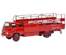 MAN LKW Truck Porsche Renndienst Autotransporter Renntransporter NEU 1:18