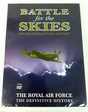 Battle For The Skies DVD R2 3Disc Box Set Royal Air Force Collectors Edition NEW