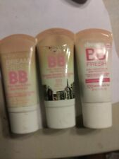 3 MAYBELLINE DREAM FRESH BB BEAUTY BALM SKIN balm sealed expired