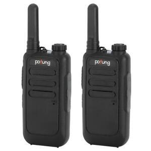 2 Pack Set Long Range Walkie Talkie 50 Mile Two Way Radio Charge Waterproof