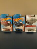 Hot Wheels Gamestop Red 2020 Ford Mustang Shelby GT500 & Blue & Flying Customs