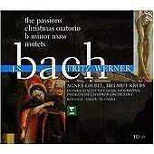 JOHANN SEBASTIAN BACH The Passions FRITZ WERNER 10 CD BOX SET  NEW -STILL SEALED