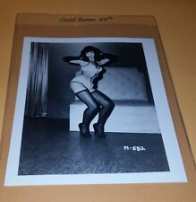 BETTIE PAGE PIN-UP ORIGINAL PHOTO FROM VINTAGE IRVING KLAW NEGATIVE #M582