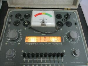 Heathkit Tube Tester Model TC-2 Vacuum Tubes