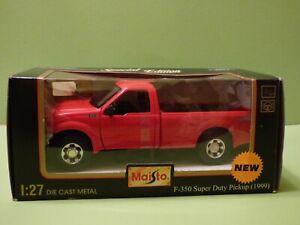 Rarity, Maisto, 1:27/1:24 , Ford F350 Multi Use Heavy Duty Truck, Resolution,