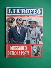 L'Européen 1961 Farah Diba Ava Gardner Lea Massari Indro Montanelli Dukes' Kent