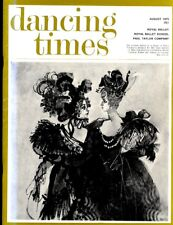 DANCING TIMES MAGAZINE 1973 AUG ALVIN AILEY, PAUL TAYLOR, CHINESE ACROBATS